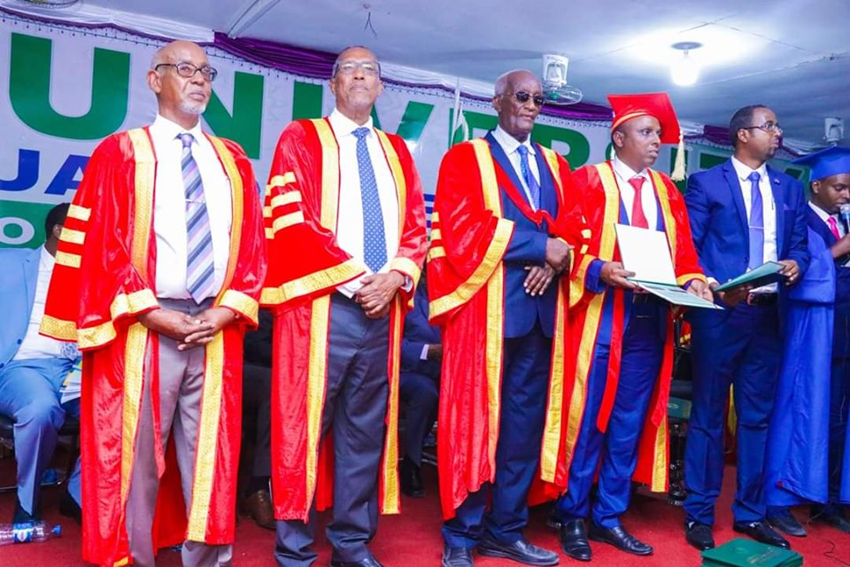 President of Somaliland at Amoud University